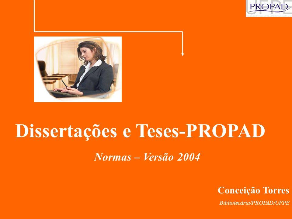 Dissertações e Teses-PROPAD