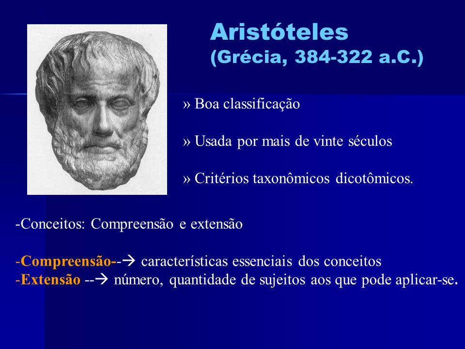Aristóteles (Grécia, 384-322 a.C.) » Boa classificação