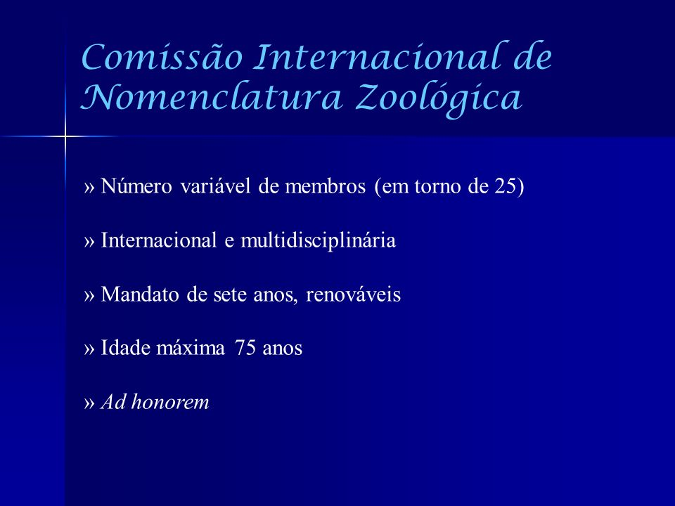 Comissão Internacional de Nomenclatura Zoológica