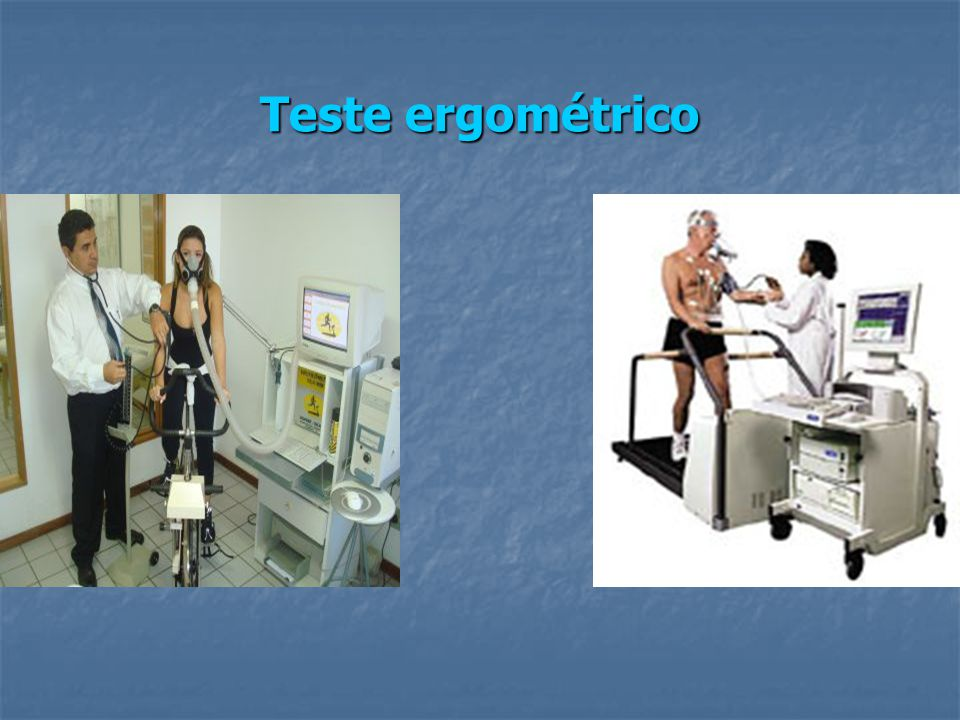 Teste ergométrico