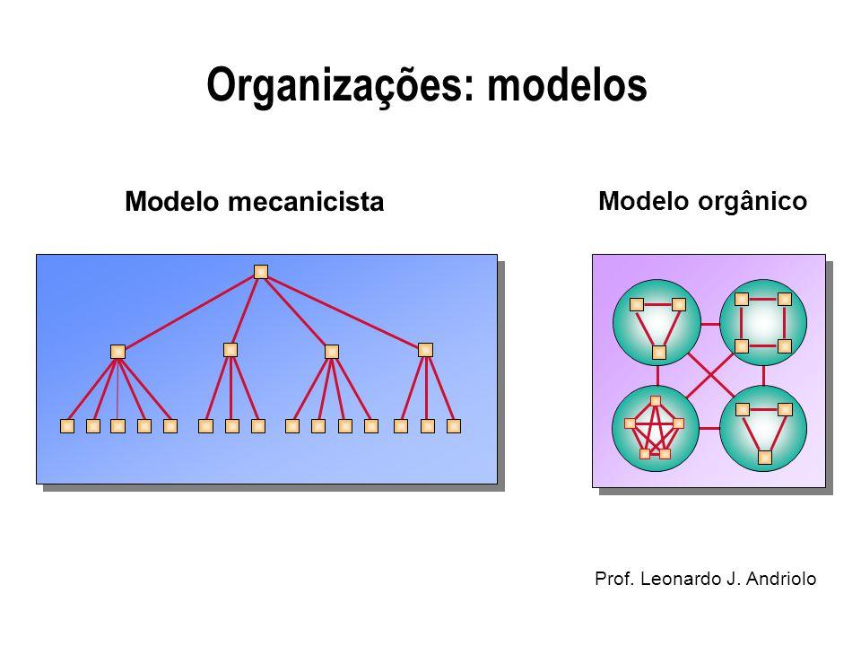 Organizações: modelos