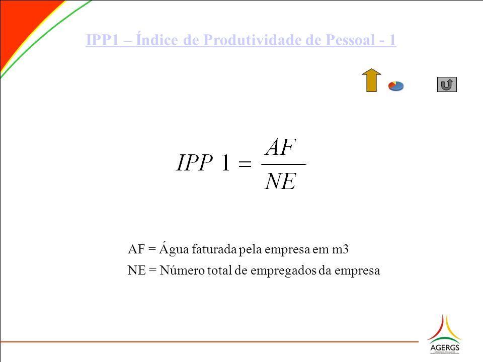 IPP1 – Índice de Produtividade de Pessoal - 1