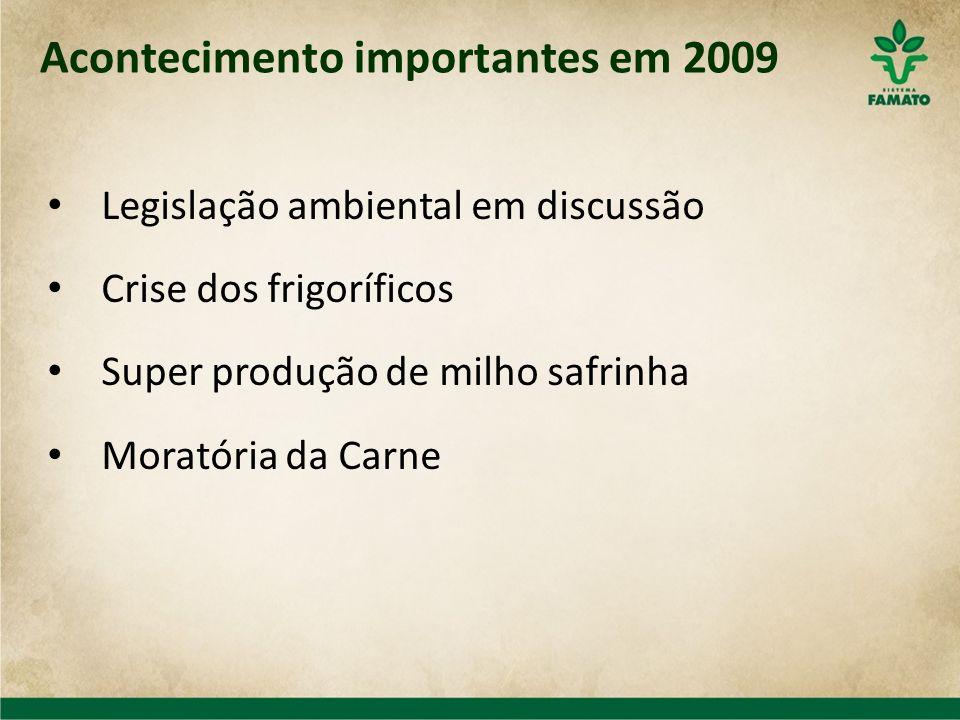 Acontecimento importantes em 2009