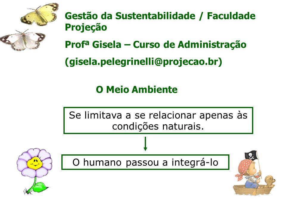 Gestão da Sustentabilidade / Faculdade Projeção