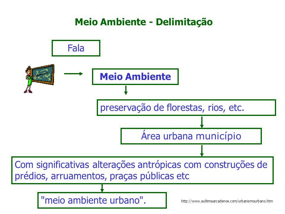 Meio Ambiente - Delimitação