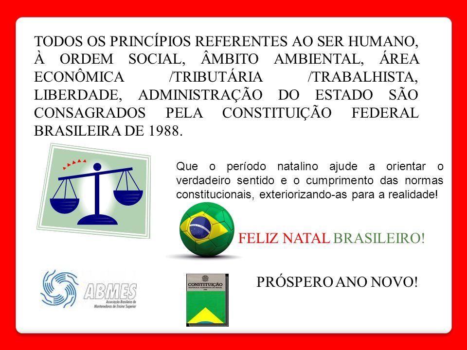 FELIZ NATAL BRASILEIRO!