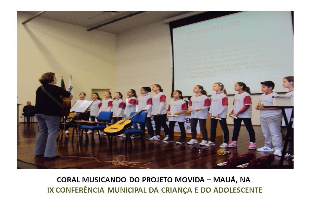 CORAL MUSICANDO DO PROJETO MOVIDA – MAUÁ, NA