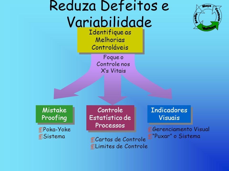 Reduza Defeitos e Variabilidade