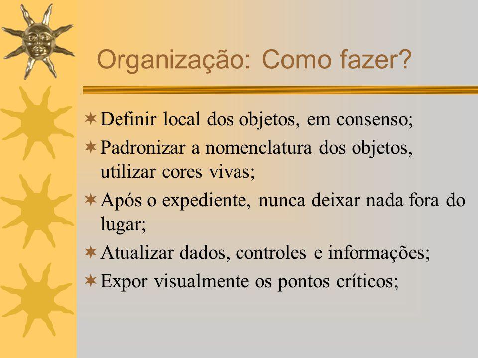 Organização: Como fazer