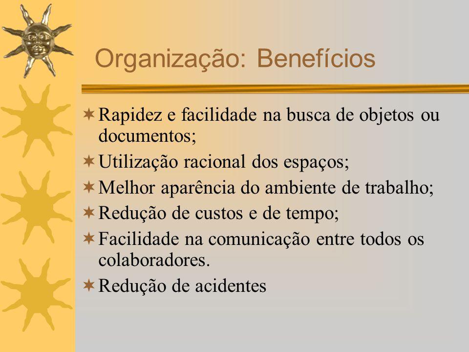 Organização: Benefícios