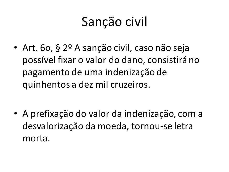Sanção civil