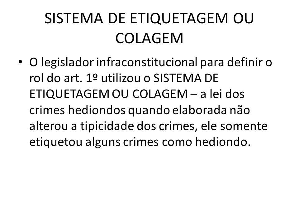 SISTEMA DE ETIQUETAGEM OU COLAGEM
