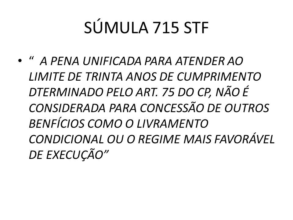 SÚMULA 715 STF