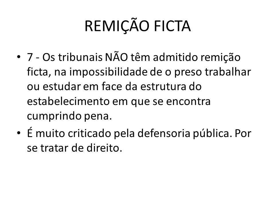 REMIÇÃO FICTA