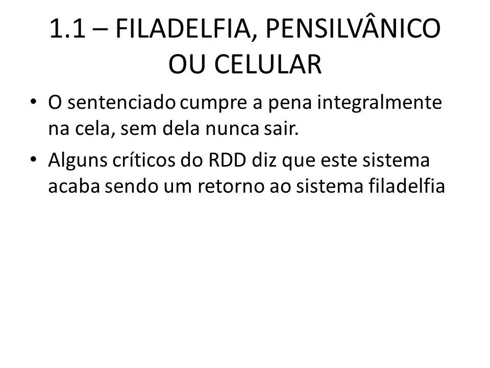 1.1 – FILADELFIA, PENSILVÂNICO OU CELULAR