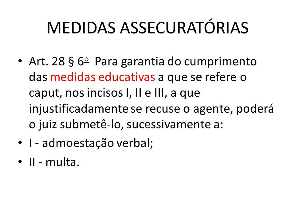 MEDIDAS ASSECURATÓRIAS