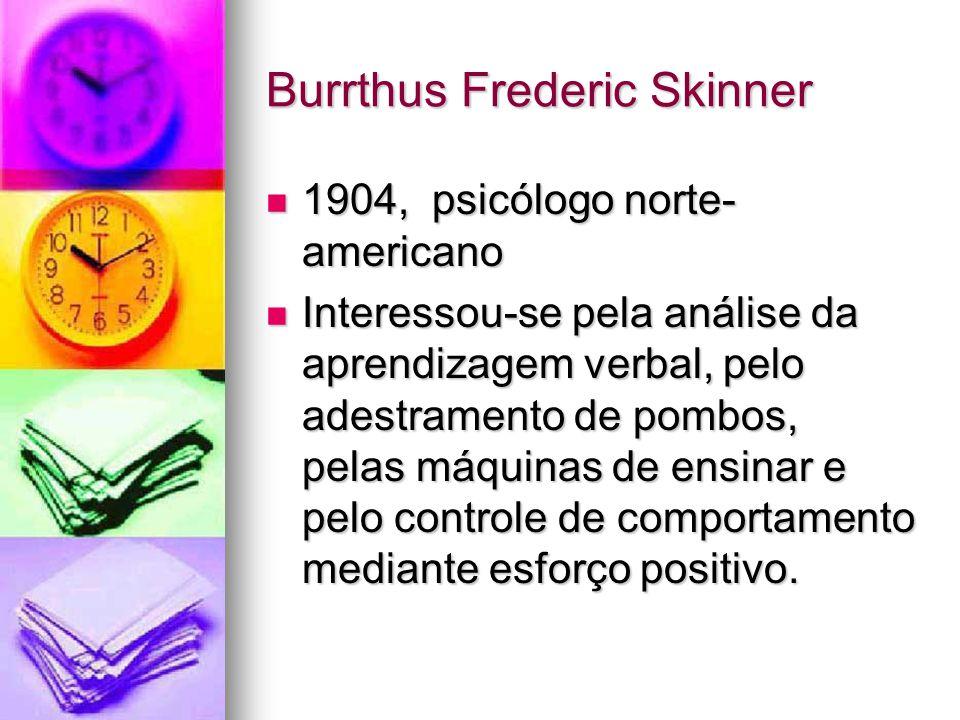 Burrthus Frederic Skinner