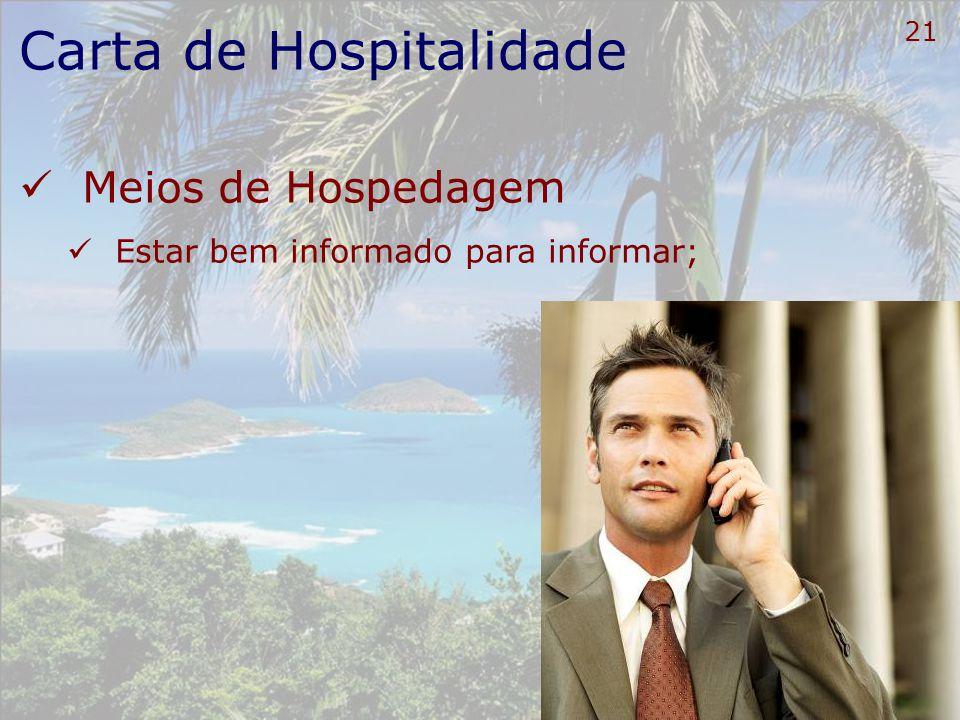 Carta de Hospitalidade
