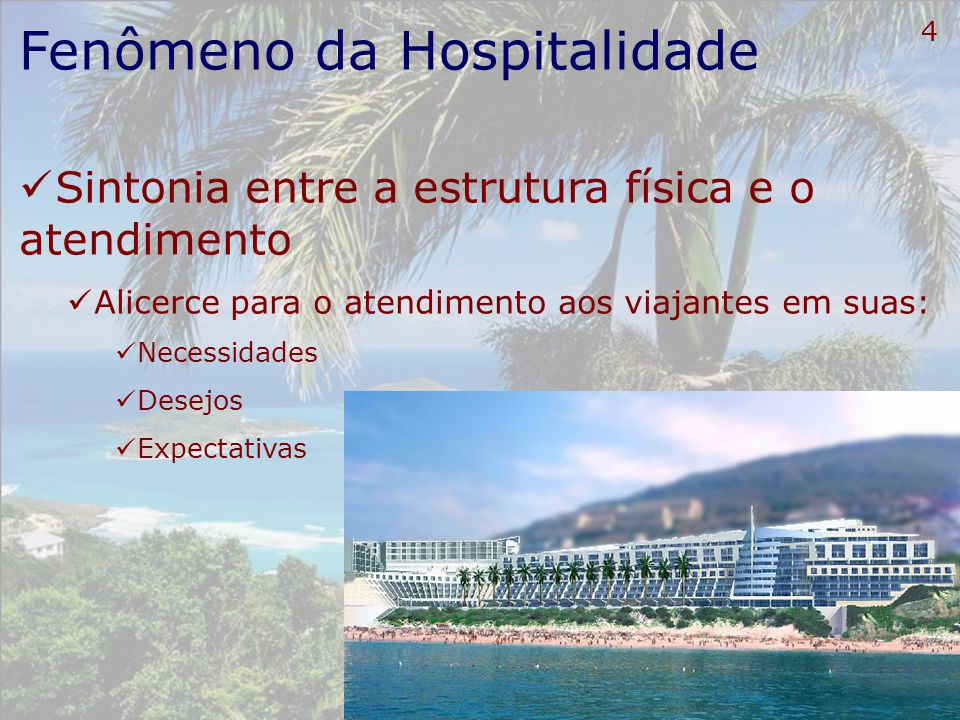 Fenômeno da Hospitalidade