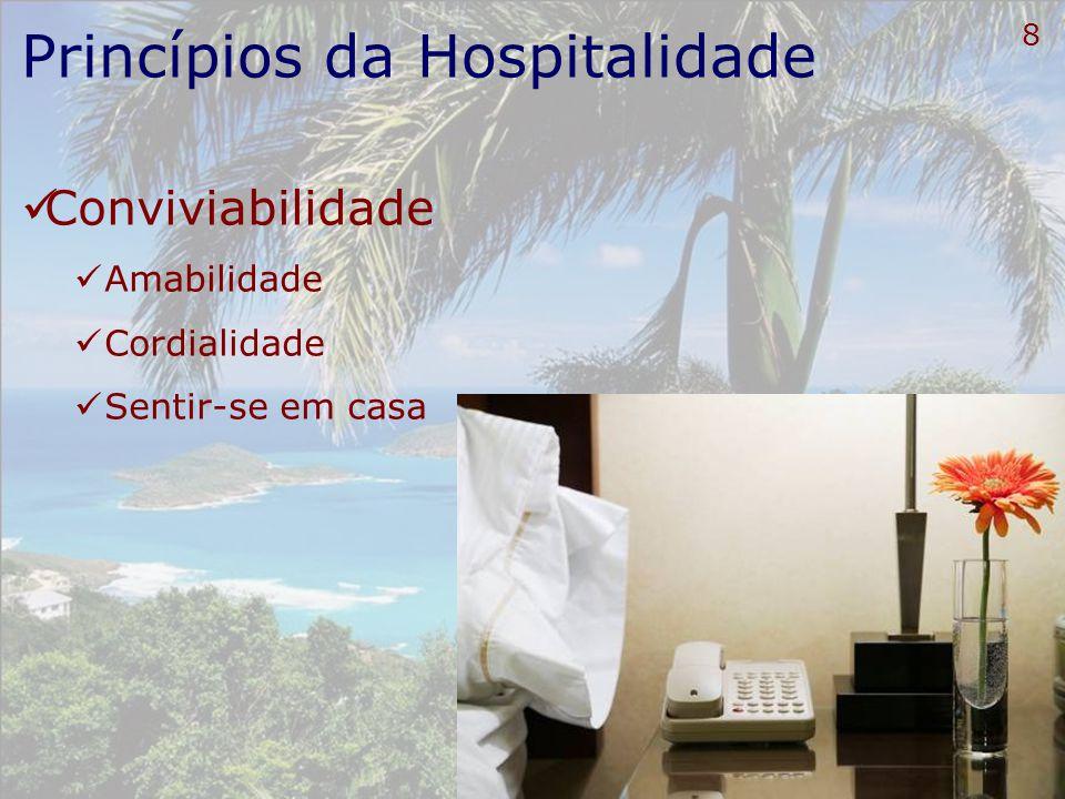 Princípios da Hospitalidade