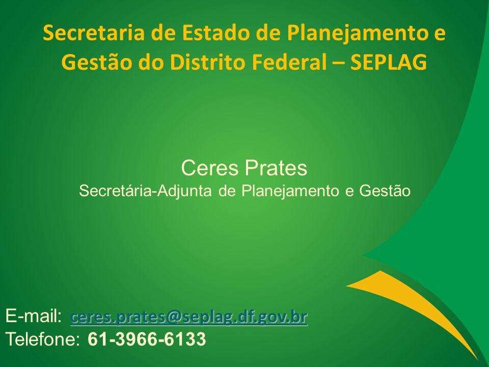 Secretária-Adjunta de Planejamento e Gestão