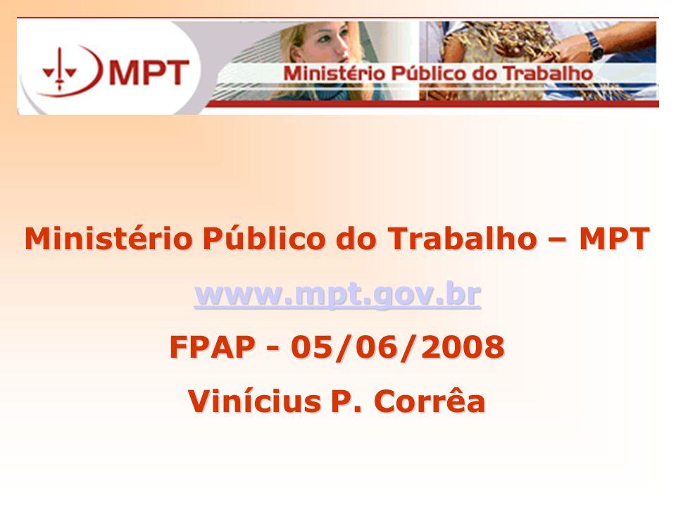 Ministério Público do Trabalho – MPT