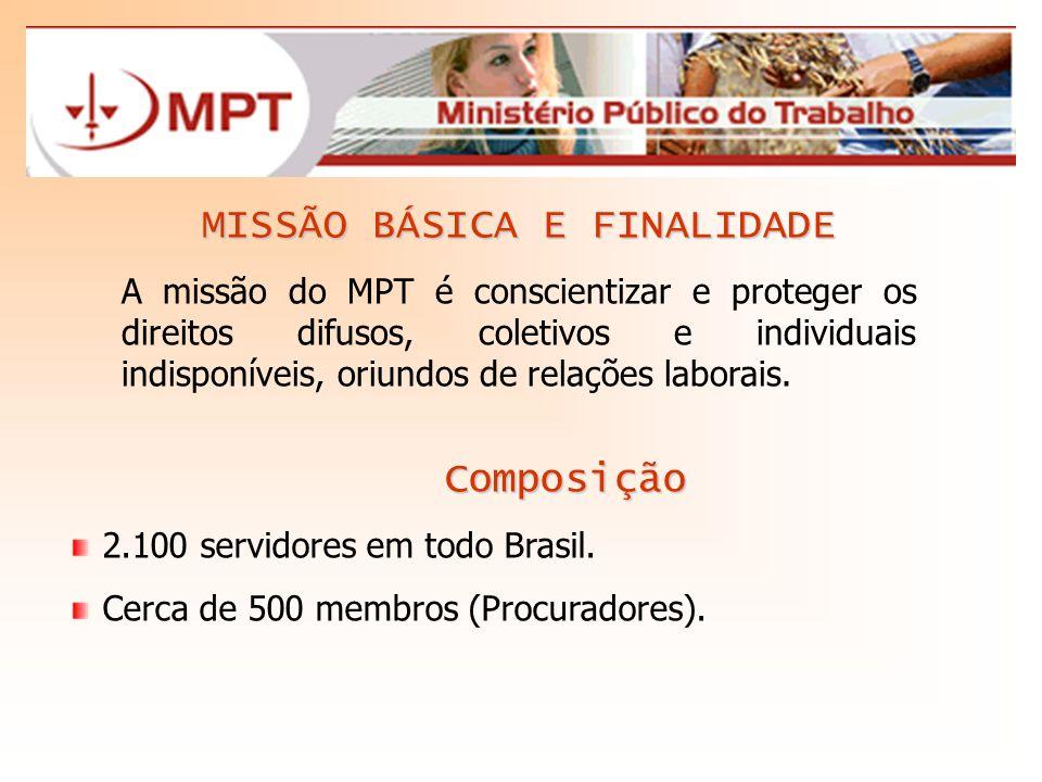 MISSÃO BÁSICA E FINALIDADE