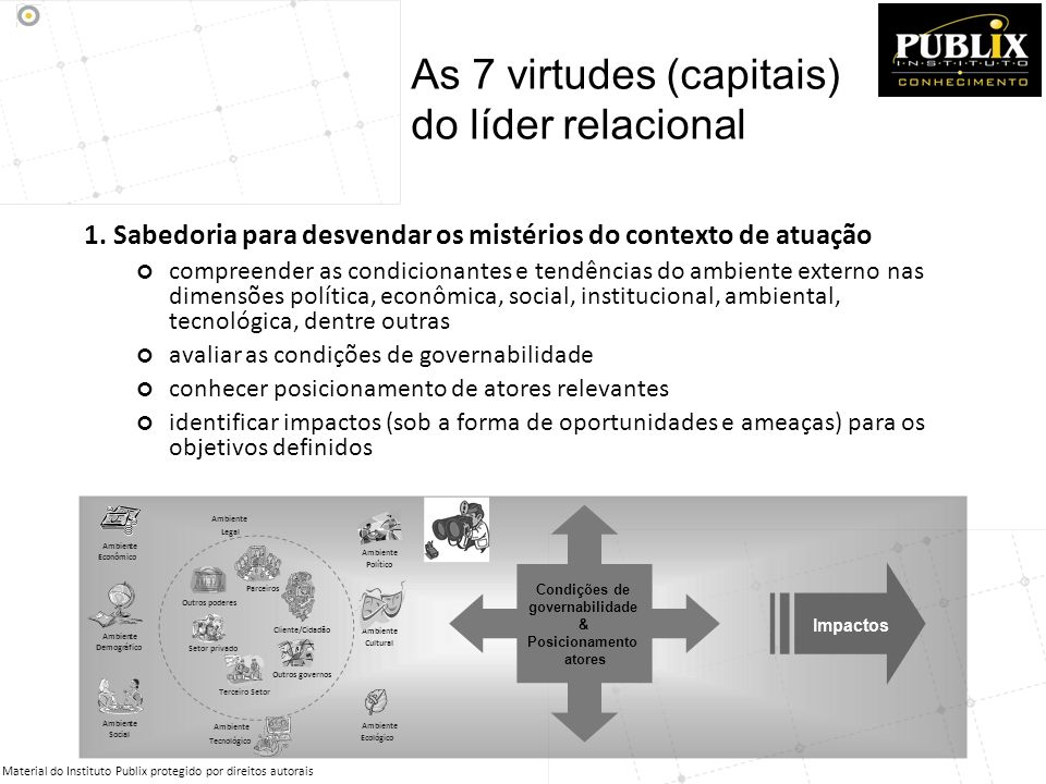 As 7 virtudes (capitais) do líder relacional