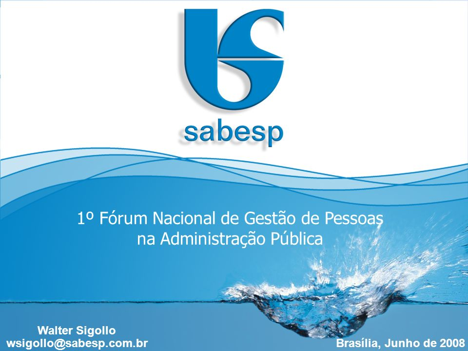 1º Fórum Nacional de Gestão de Pessoas na Administração Pública