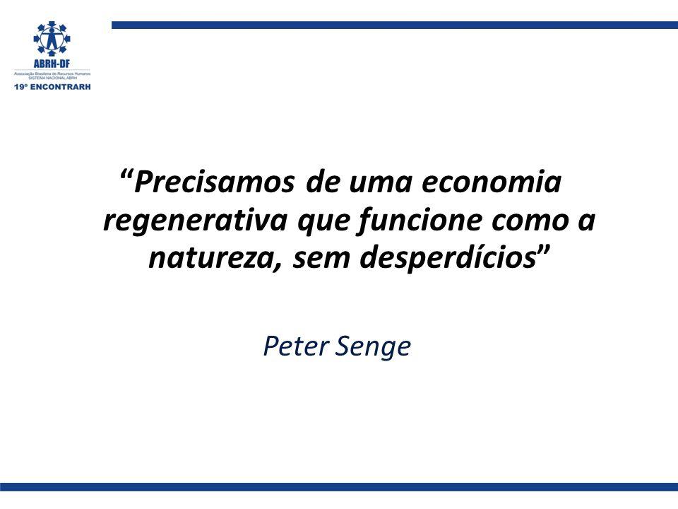Precisamos de uma economia regenerativa que funcione como a natureza, sem desperdícios