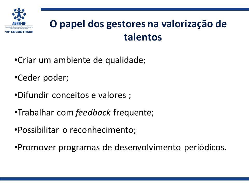 O papel dos gestores na valorização de talentos