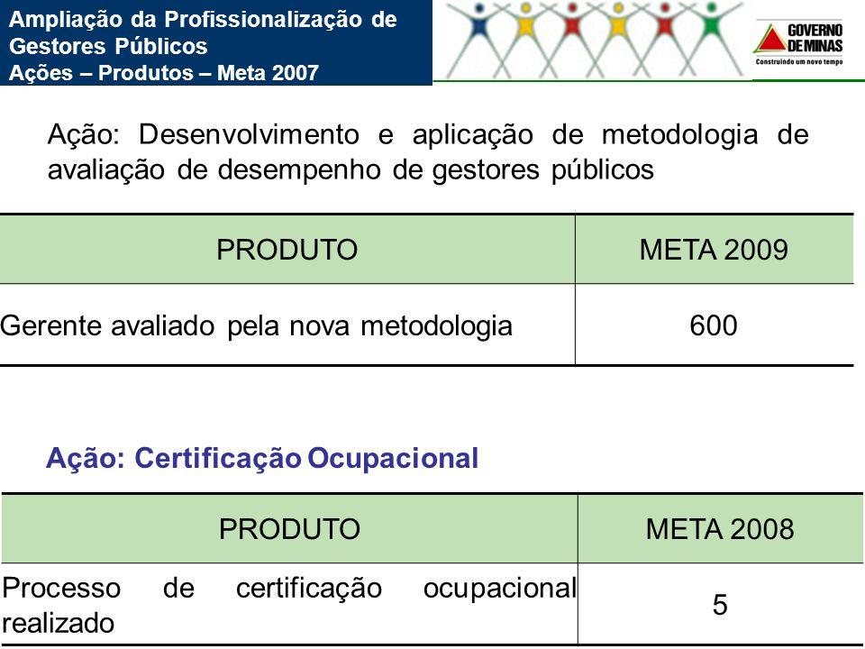 Gerente avaliado pela nova metodologia 600