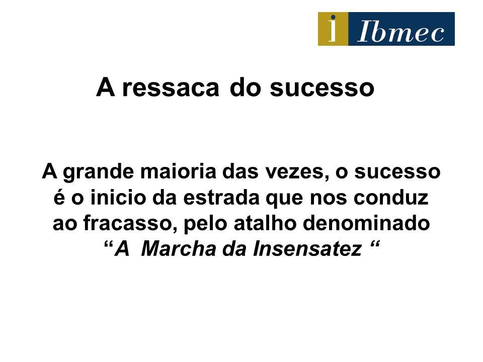 A ressaca do sucesso