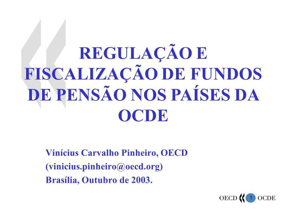 REGULAÇÃO E FISCALIZAÇÃO DE FUNDOS DE PENSÃO NOS PAÍSES DA OCDE