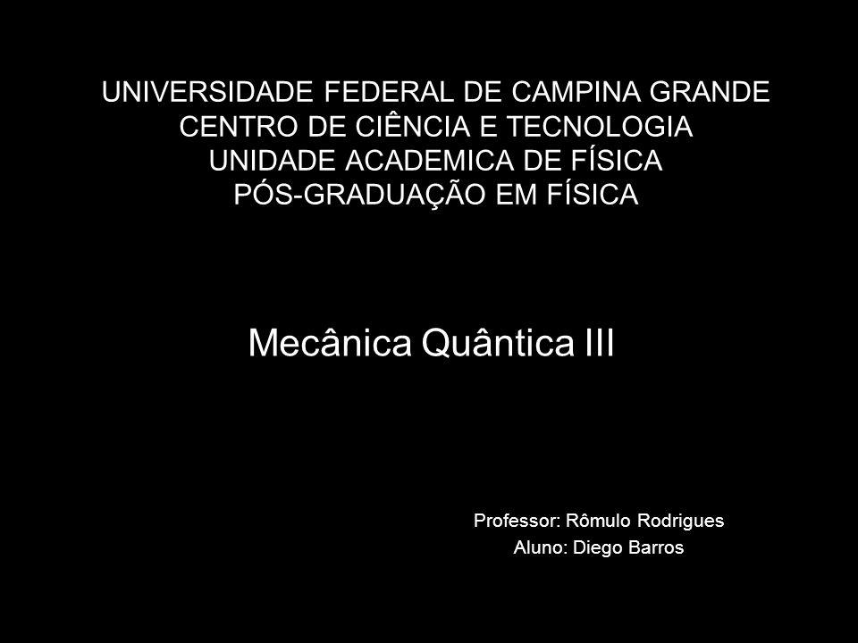 Professor: Rômulo Rodrigues