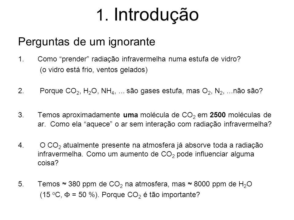 1. Introdução Perguntas de um ignorante