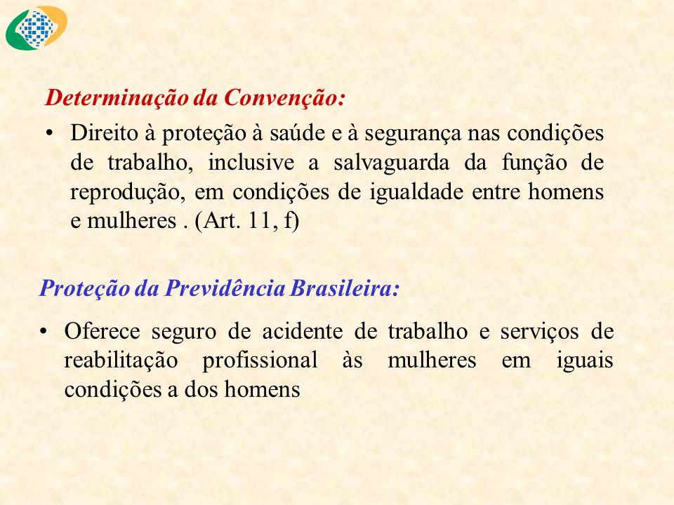 Determinação da Convenção:
