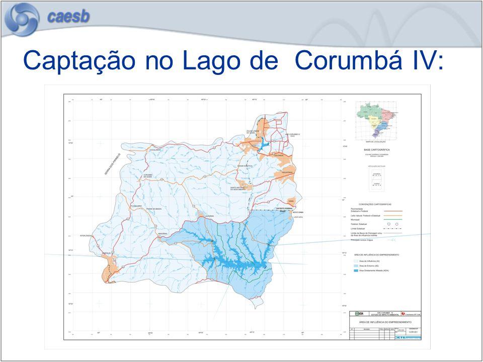 Captação no Lago de Corumbá IV: