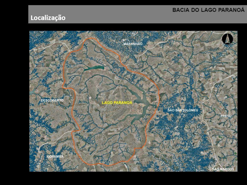 BACIA DO LAGO PARANOÁ Localização