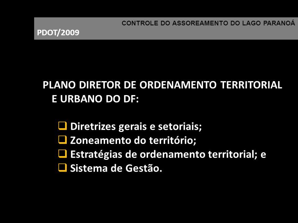 PLANO DIRETOR DE ORDENAMENTO TERRITORIAL E URBANO DO DF: