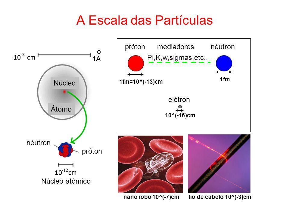 A Escala das Partículas