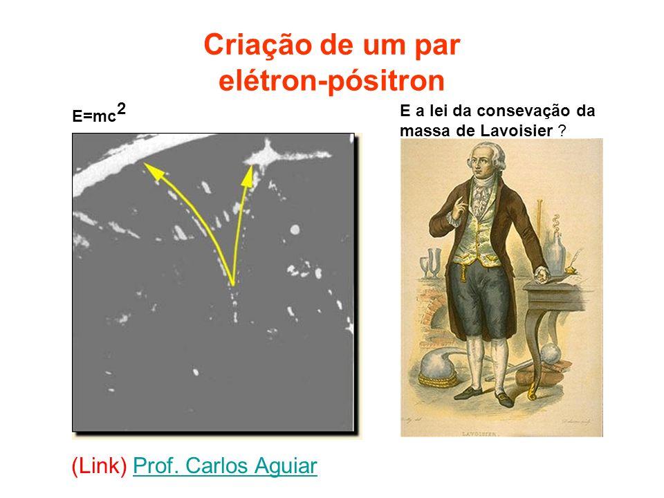 Criação de um par elétron-pósitron