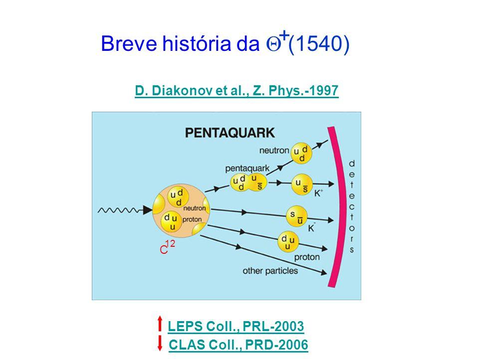 Breve história da  (1540) + D. Diakonov et al., Z. Phys.-1997