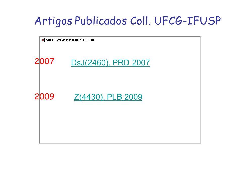 Artigos Publicados Coll. UFCG-IFUSP