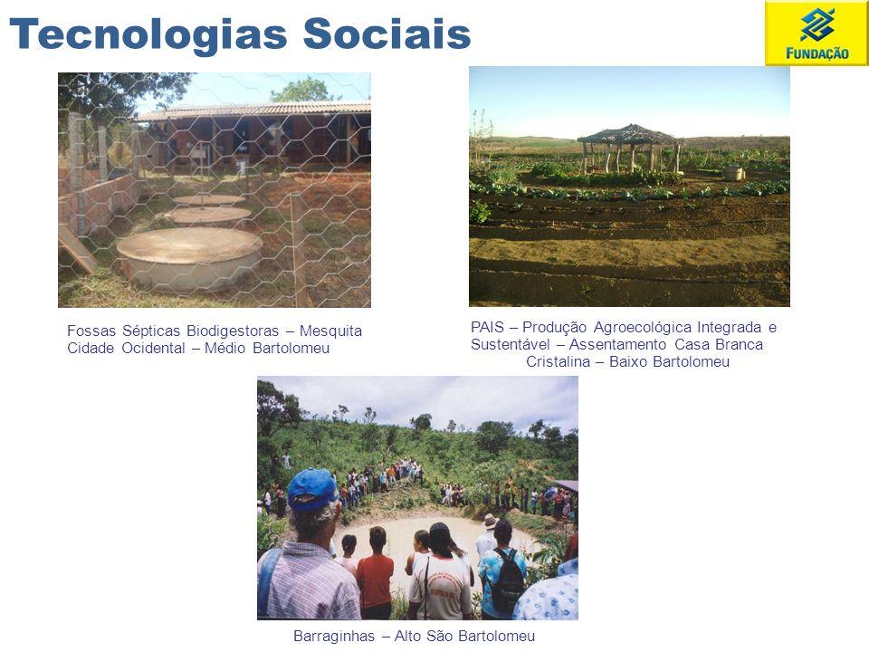 Tecnologias Sociais Fossas Sépticas Biodigestoras – Mesquita