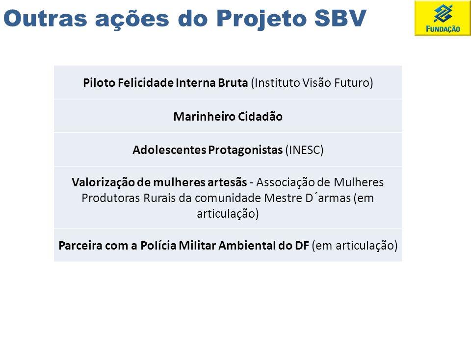 Outras ações do Projeto SBV