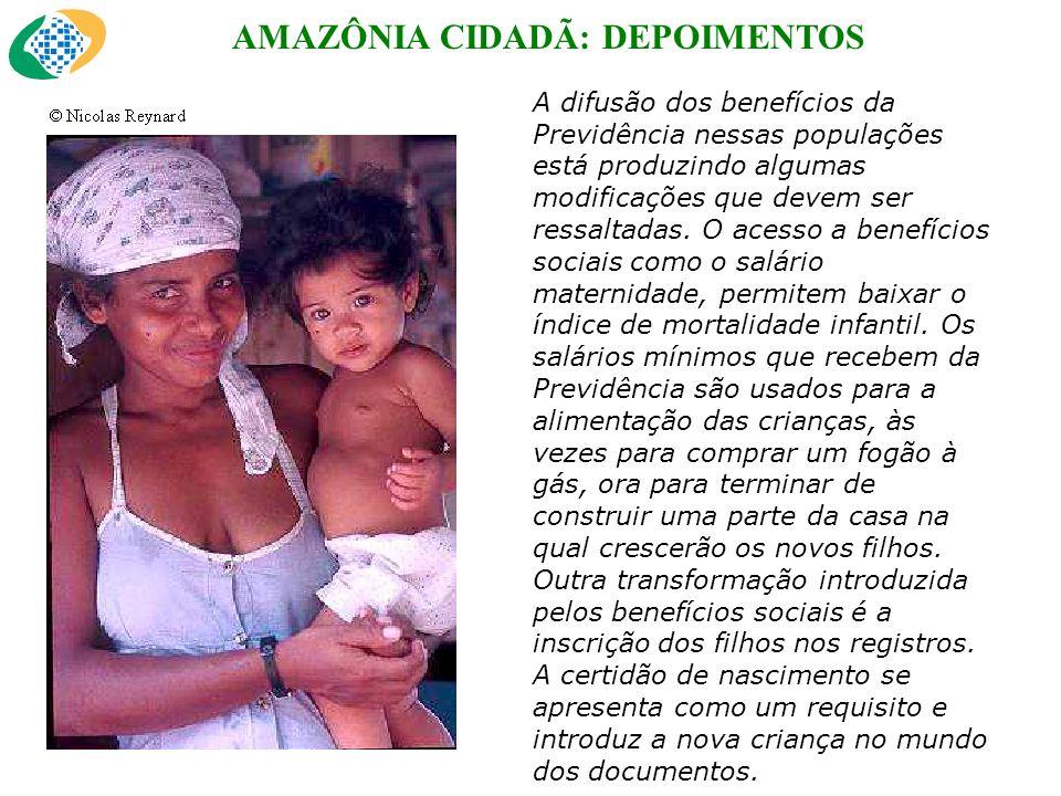 AMAZÔNIA CIDADÃ: DEPOIMENTOS