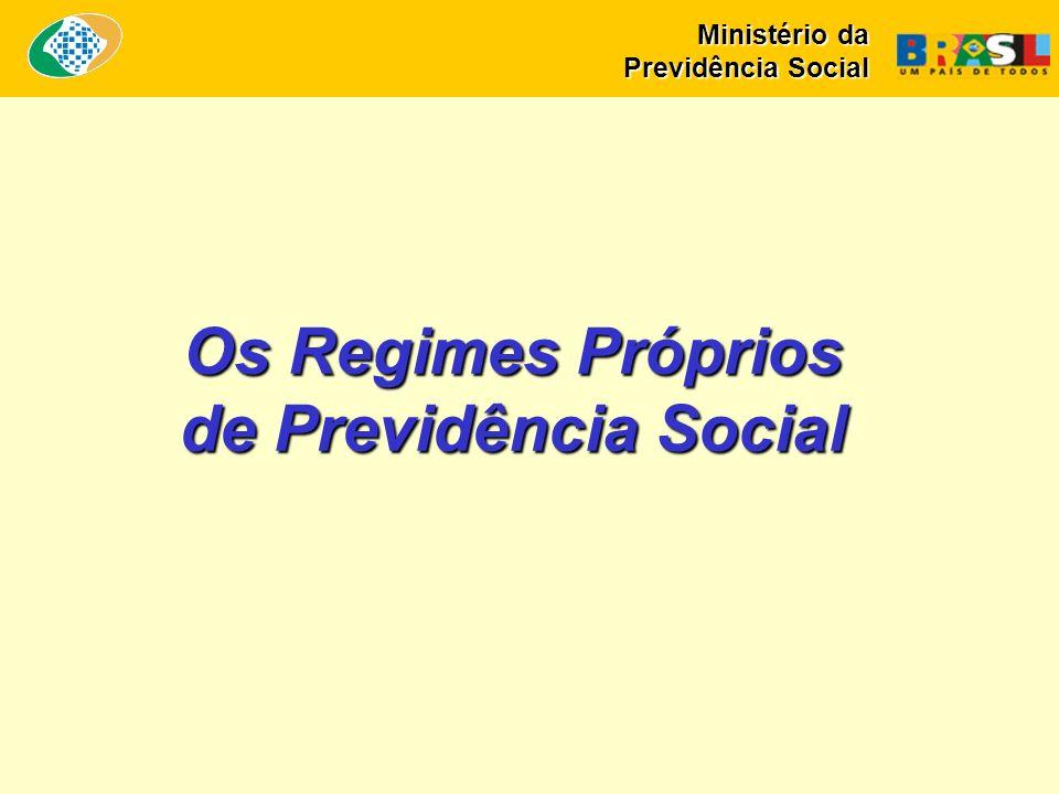 Os Regimes Próprios de Previdência Social