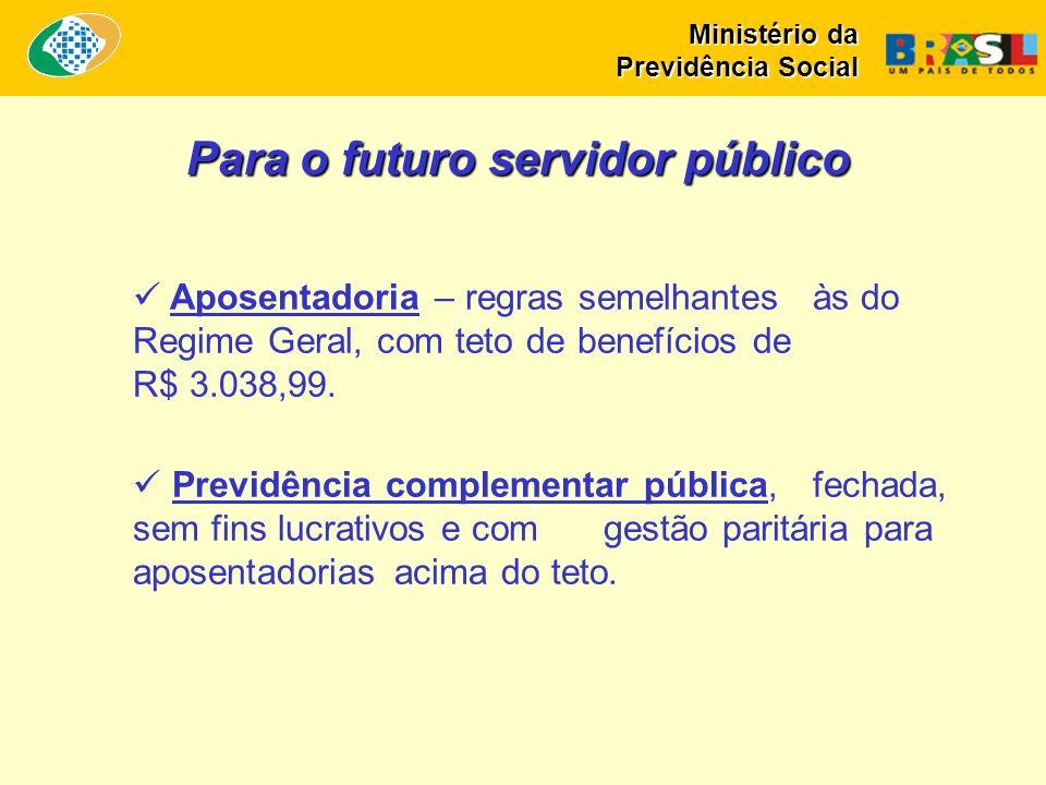 Para o futuro servidor público