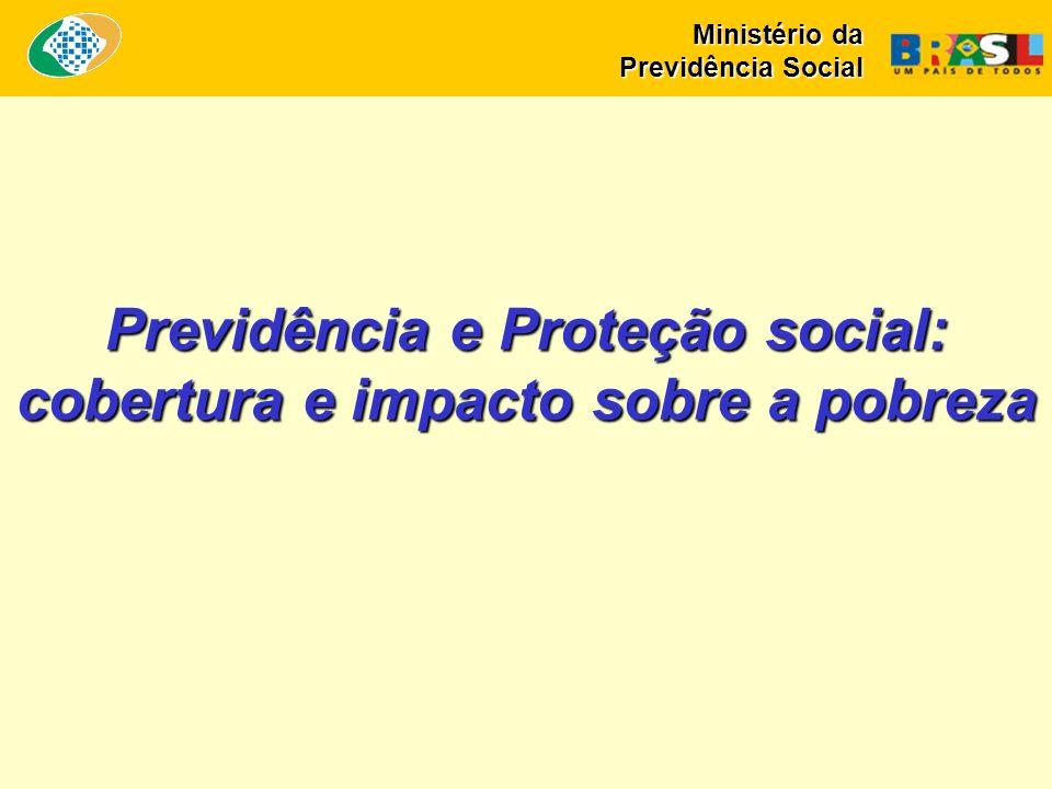 Previdência e Proteção social: cobertura e impacto sobre a pobreza